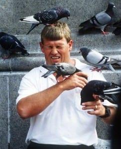 Jacksonville transient arrested after wing torn off live pigeon