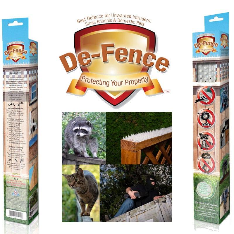 De-Fence Fence & Wall Spikes