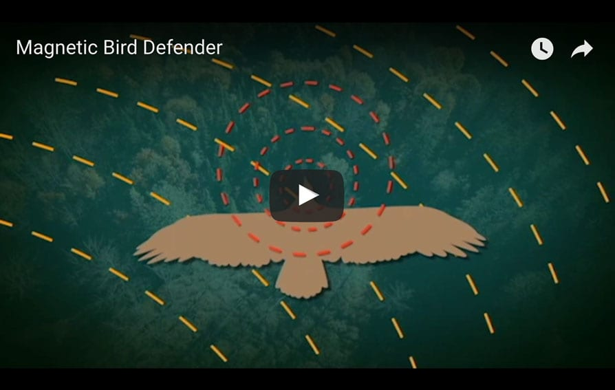 Magnetic Bird Defender